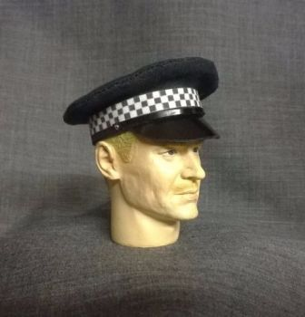 Banjoman custom made 1/6th Scale London Metropolitan Police Service Cap.