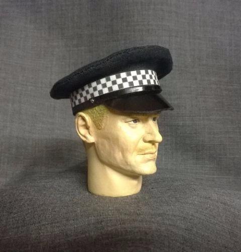 Banjoman custom made 1/6th Scale London Metropolitan Police Service Cap.