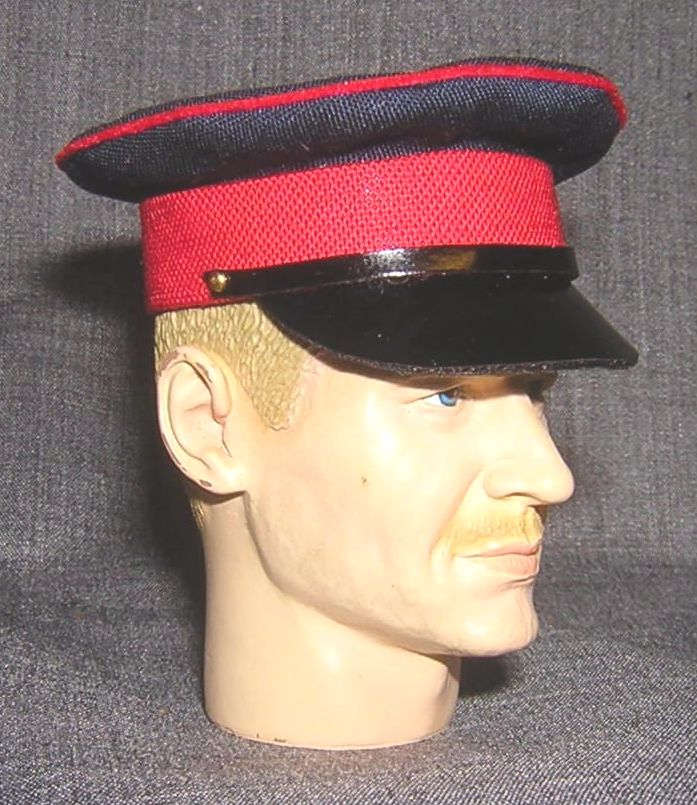 Banjoman custom made 1/6th Scale British Army Dress Cap.