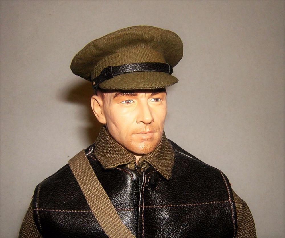 Banjoman custom made 1/6th Scale WW2 British Army Khaki Service Cap.