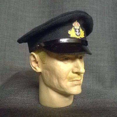 Banjoman custom made 1/6th Scale WW2 Royal Navy Officer's Cap.