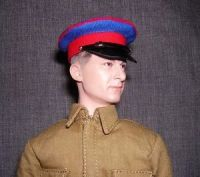 Banjoman custom made 1/6th Scale WW2 Russian NKVD Cap.
