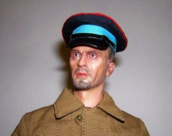 Banjoman custom made 1/6th Scale WW2 Russian Police Cap.