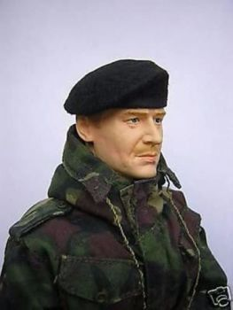Banjoman 1:6 Scale Custom Made Beret - Black
