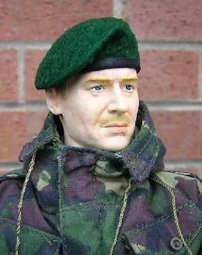 Banjoman 1:6 Scale Custom Made Beret - Green