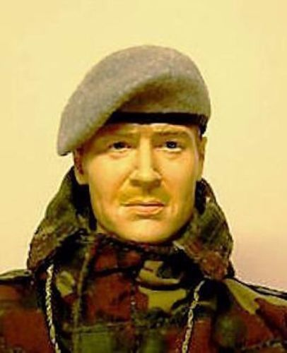Banjoman 1:6 Scale Custom Made Beret - Grey