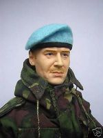 Banjoman 1:6 Scale Custom Made Beret - Light Blue
