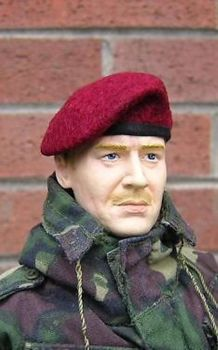 Banjoman 1:6 Scale Custom Made Beret - Maroon