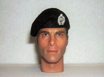 Banjoman 1:6 Scale Custom Made Beret - The Royal Tank Regiment - With Badge