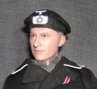 Banjoman 1:6 Scale Custom Made WW2 German Panzer Beret