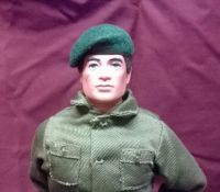 Banjoman 1:6 Scale Custom Made Beret For Vintage Action Man - Green