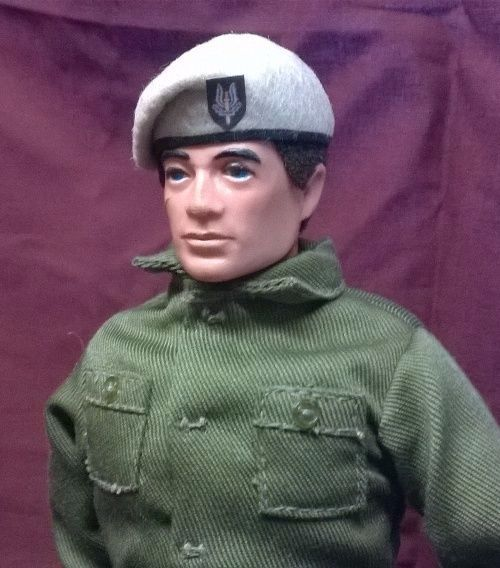 Banjoman 1:6 Scale Custom Made Beret For Vintage Action Man - S.A.S.