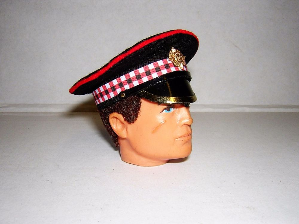 Banjoman 1:6 Scale Scots Guards Peaked Cap For Vintage Action Man