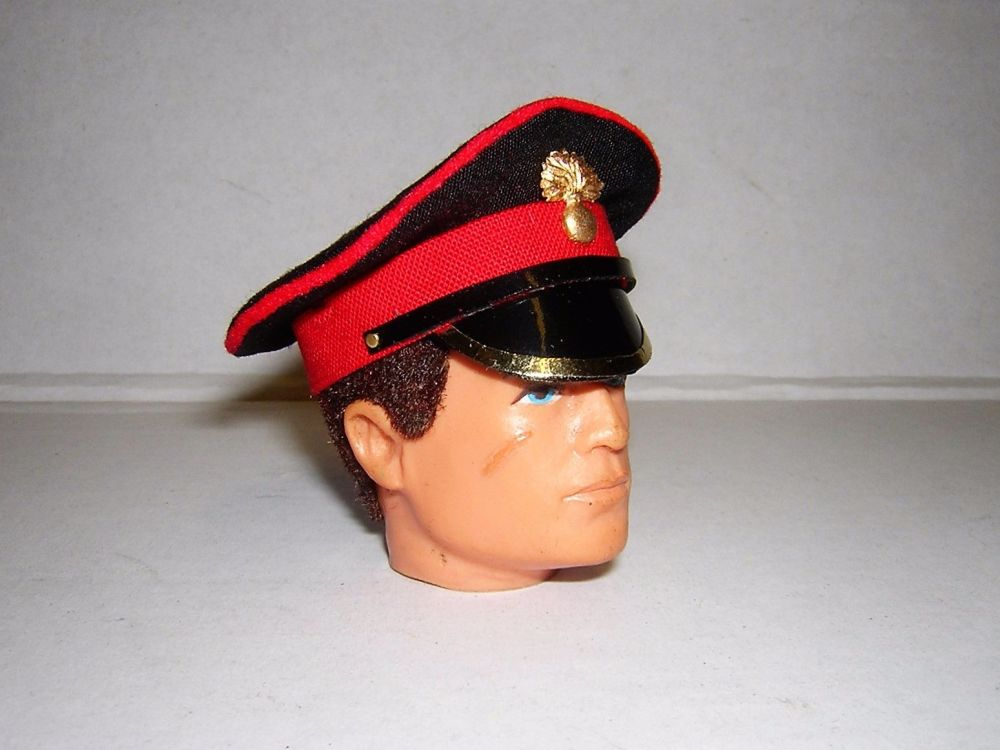 Banjoman 1:6 Scale Grenadier Guards Peaked Cap For Vintage Action Man