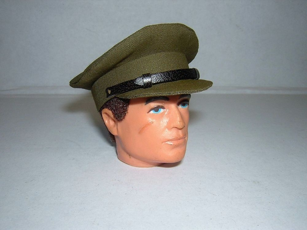 Banjoman 1:6 Scale WW2 British Officer's Cap For Vintage Action Man