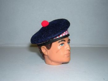 Banjoman 1:6 Scale Argyll Balmoral Bonnet For Vintage Action Man