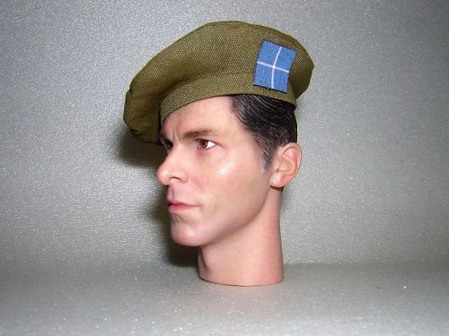 Banjoman 1:6 Scale Custom Made Tam O'Shanter - Khaki Green - The Camerons