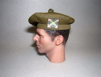 Banjoman 1:6 Scale Custom Tam O'Shanter - Khaki Green - The Royal Scots