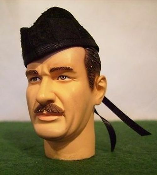 Banjoman 1:6 Scale Custom Made Glengarry Cap - Plain