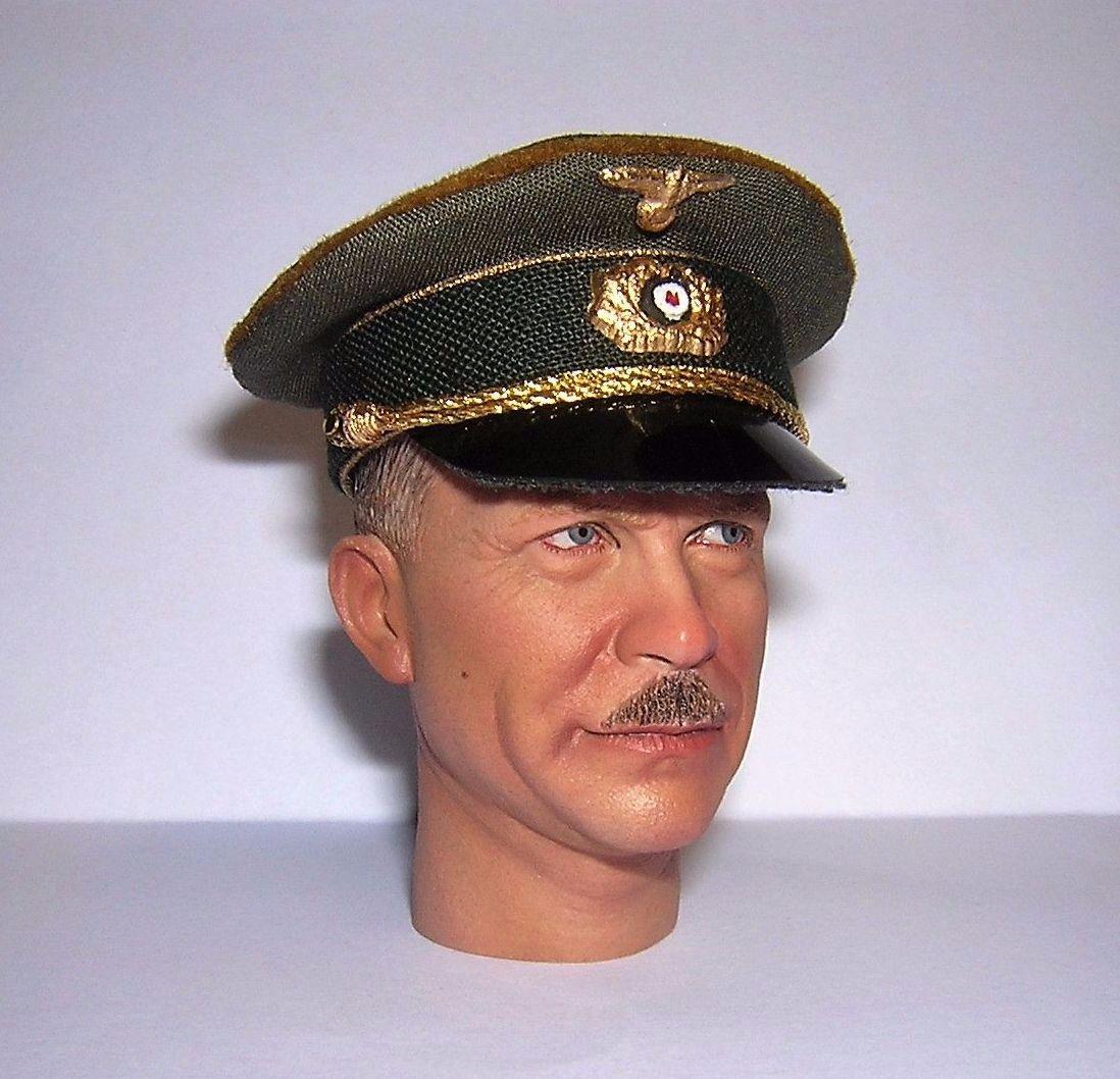 Banjoman custom made 1/6th Scale WW2 German General's Dress Cap