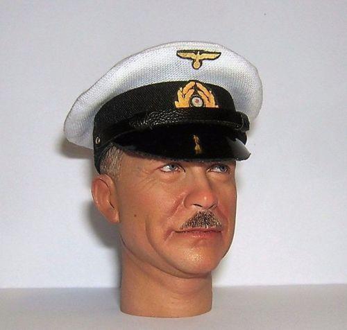 Banjoman 1:6 Scale Custom Made WW2 German Kriegsmarine Visor Cap