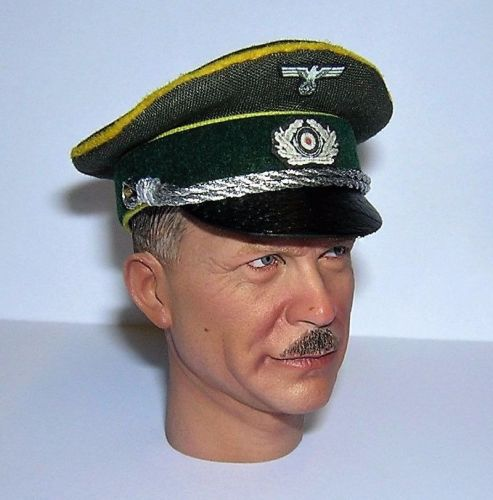 Banjoman custom made 1/6th Scale WW2 German Green Heer Cavalry Officer's Vi
