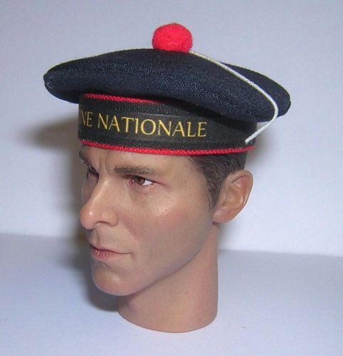 Banjoman custom made 1/6th Scale French Sailor's Cap - Marine Nationale.  N
