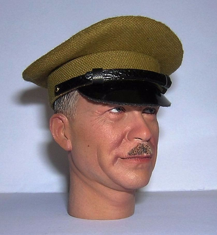 Banjoman custom made 1/6th Scale WW1 Russian Lancer's Cap.