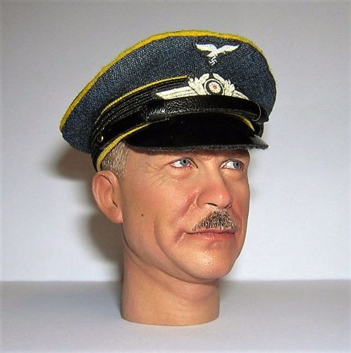 Banjoman custom made 1/6th Scale WW2 German Luftwaffe Blue Private / NCO's
