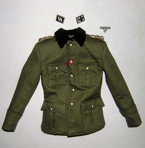 DiD Dragon In Dreams 1/6th Scale WW2 German Officer's Tunic - Peiper