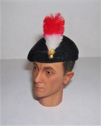 Banjoman 1:6 Scale Custom Made Beret - Royal Regiment Of Fusiliers