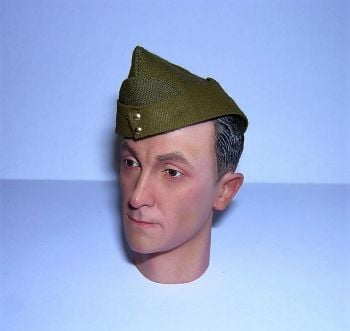 Banjoman custom made 1/6th Scale WW2 British Army Field Service Cap.
