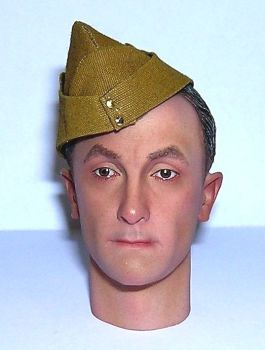 Banjoman custom made 1/6th Scale WW2 British Army Field Service Cap - Light Khaki