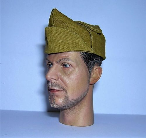 Banjoman custom made 1/6th Scale WW2 Italian Bustina - Khaki