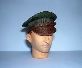 Banjoman custom made 1/6th Scale WW2 United States Air Force Enlisted Man's Crusher Cap.