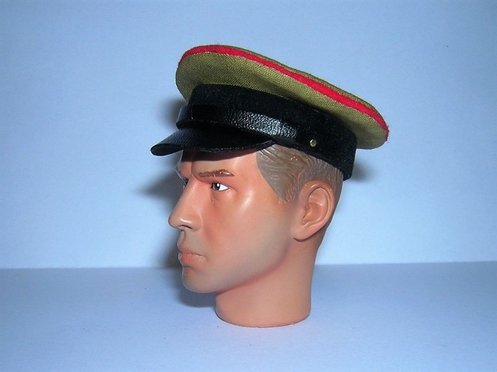 Banjoman custom made 1/6th Scale WW2 Soviet M24 Tank Officer's Cap.