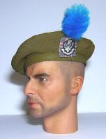 Banjoman custom made 1/6th Scale Tam O'Shanter With Regimental Patch. Q.O.H.