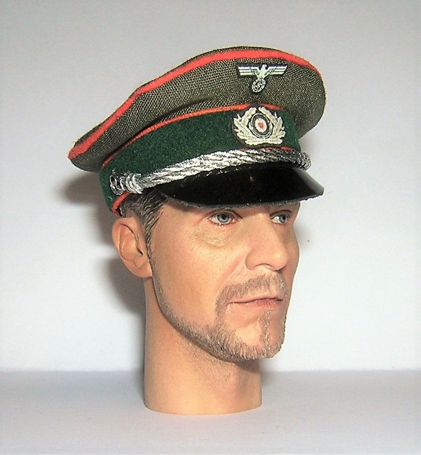 Banjoman custom made 1/6th Scale WW2 German Green Feldgendarmerie Officer's