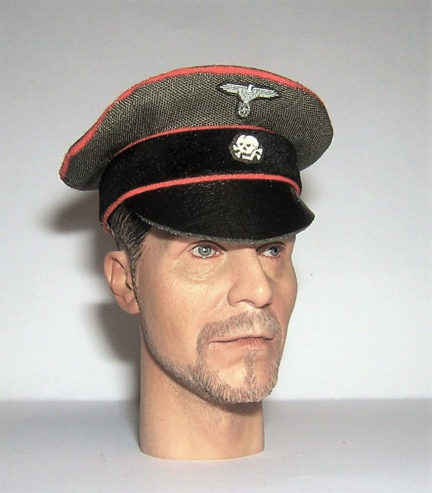 Banjoman custom made 1/6th Scale WW2 German Green SS Feldgendarmerie Crushe