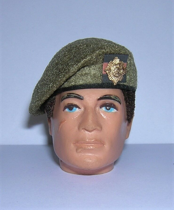 Banjoman 1:6 Scale Custom Made Beret - Khaki - Scots Guards