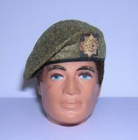 Banjoman 1:6 Scale Custom Made Beret - Khaki - Coldstream Guards