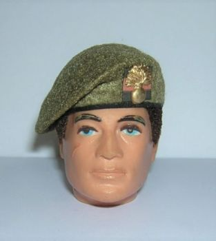 Banjoman 1:6 Scale Custom Made Beret - Khaki - Grenadier Guards