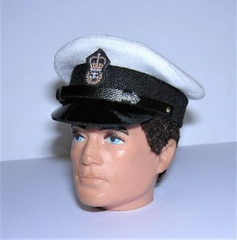 Banjoman 1:6 Scale Royal Navy Chief Petty Officer's Peaked Cap For Vintage Action Man