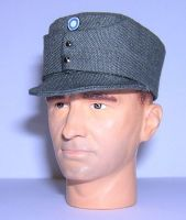 Banjoman 1:6 Scale Custom WW2 Finnish M36 Field Cap - Grey