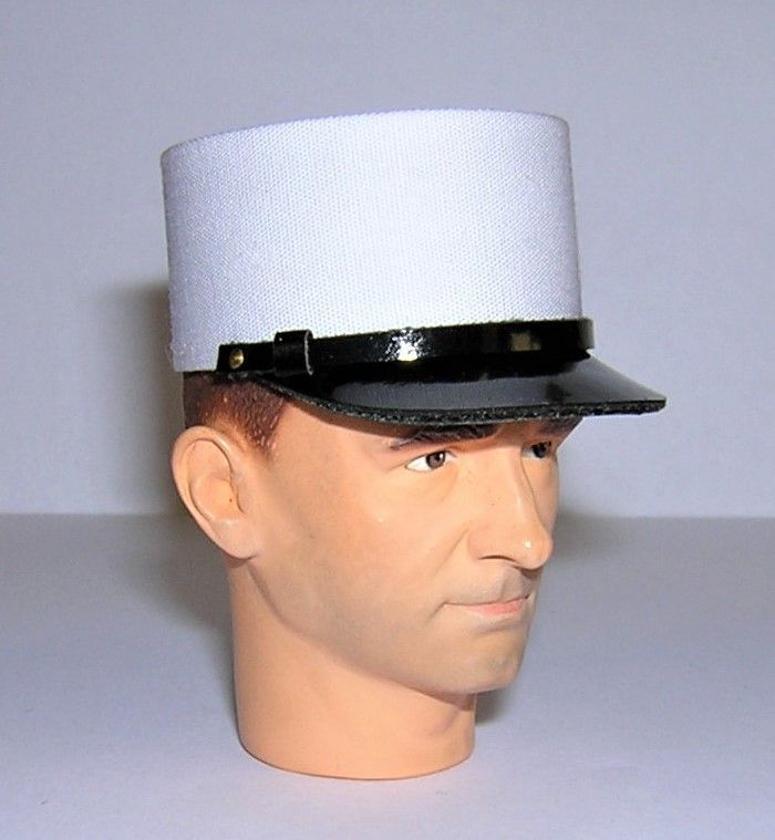 Banjoman custom made 1/6th Scale French Foreign Legion Kepi Blanc