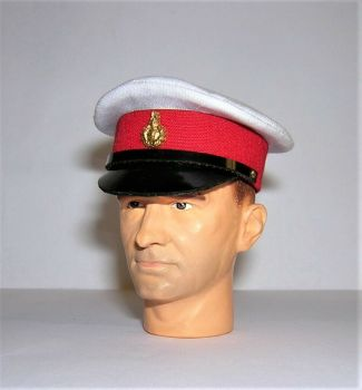 Banjoman custom made 1/6th Scale Royal Marines Dress Cap.