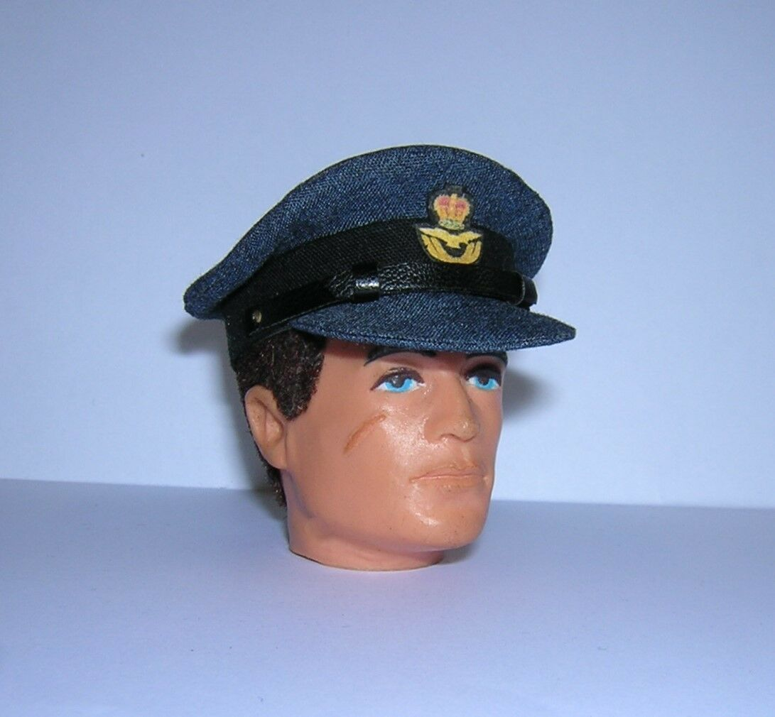 Banjoman 1:6 Scale WW2 British R.A.F. Cap For Vintage Action Man