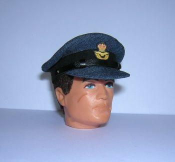 Repro Badge Custom floqué ~ Vintage Action Man-British Royal Marine béret