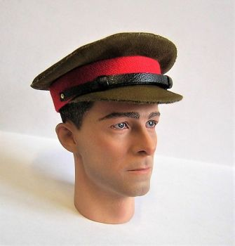 Banjoman custom made 1/6th Scale WW2 British Army General's Khaki Service Cap.