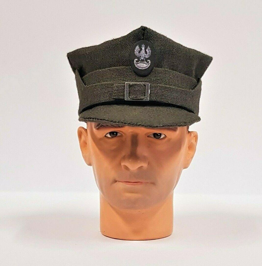 Banjoman 1:6 Scale Custom WW2 Polish Infantry Khaki Rogatywka Cap